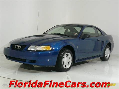2000 blue mustang 2000 atlantic blue metallic ford mustang v6 coupe 441358