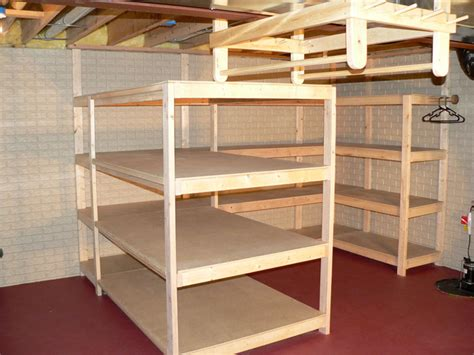 basement shelving units basement shelving ideas homesfeed