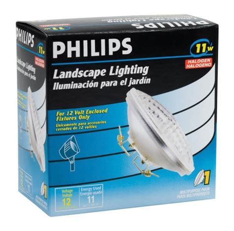 philips landscape lighting philips 156836 landscape lighting 11 watt 12 volt