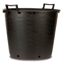 large heavy duty plastic plant pot with handles 65