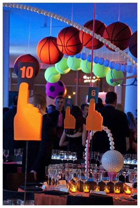 basketball themed events 131 best images about sports theme bar and bat mitzvah