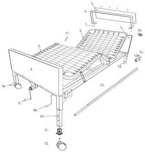 Sleep Number Bed Frame Replacement Parts Multi Height Manual Hospital Bed Drive