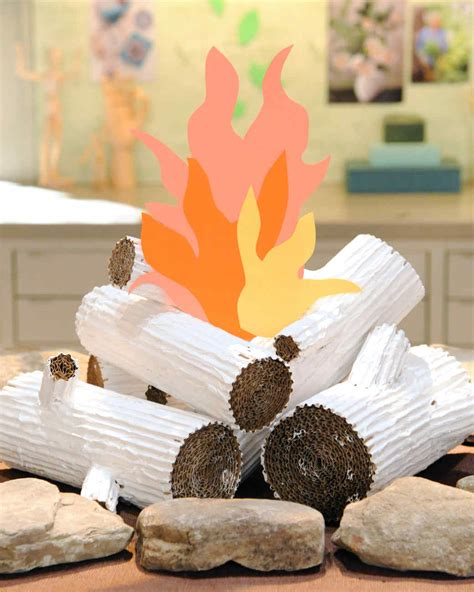 How To Make Paper Logs - cardboard faux logs martha stewart