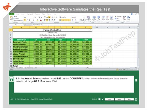 excel assessment excel test for prep practice excel assessment