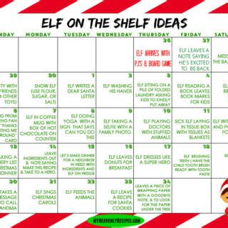 printable elf on the shelf rules printables archives my heavenly recipes