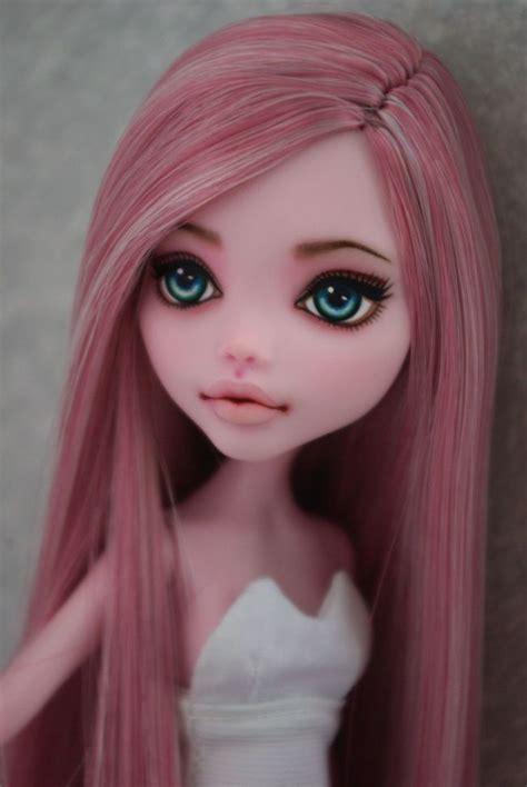 doll repaint ooak high draculaura custom repaint by hyangie