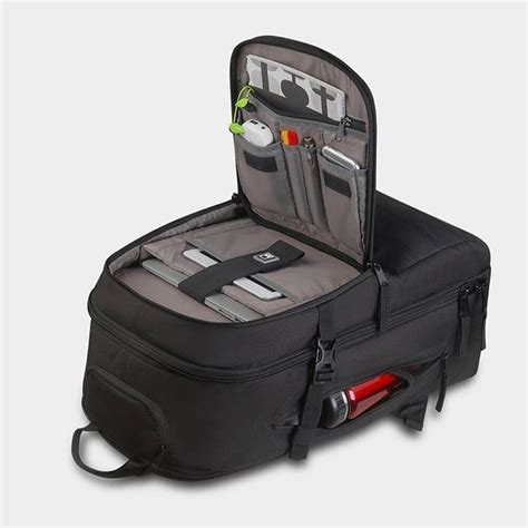 termurah tas bodypack voltage trolley backpack 8001b
