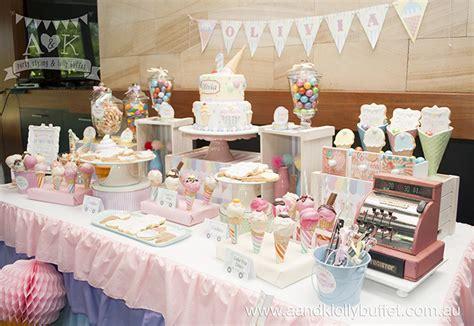 http aandklollybuffet com au pastel ice cream themed 1st