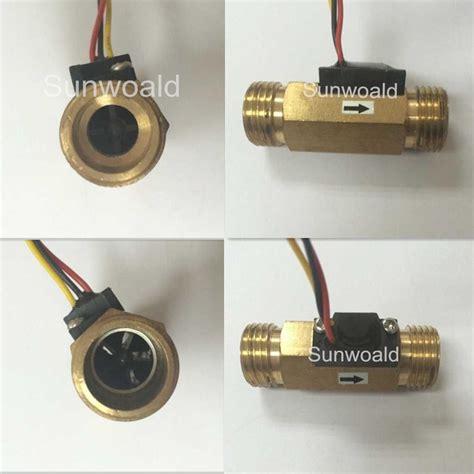 Water Flow Sensor 1 2 Brass Copper Waterflow 1 2 quot brass water flow sensor buy brass flow sensor water flow sensor flow sensor