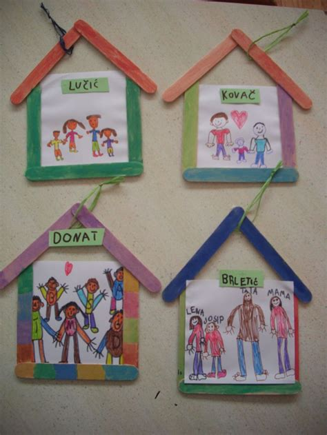 family craft for family themed crafts for preschool craft ideas