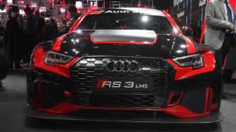Audi Sports Cars Audi Sport Unveils Rs3 Lms Race Car