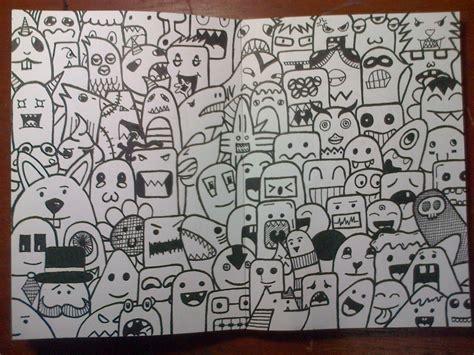 doodle yg mudah doodle seni mencoret vincent cahya