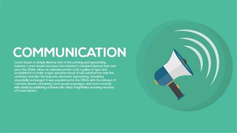communication powerpoint templates communication metaphor powerpoint and keynote template