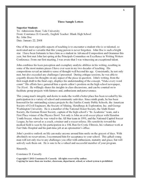 letter of recommendation for student from teacher free resumes tips