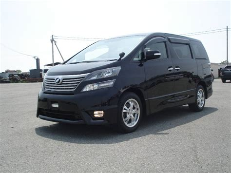 Toyota Vallfire 2010 Toyota Vellfire Pictures 2 4l Gasoline Automatic