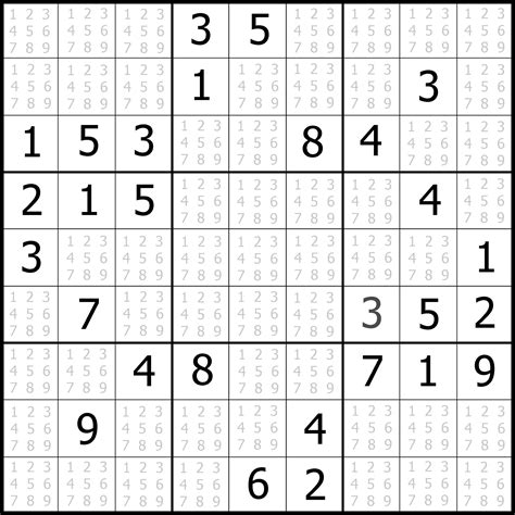 printable sudoku and other puzzles free easy sudoku puzzle 04 sudoku puzzler