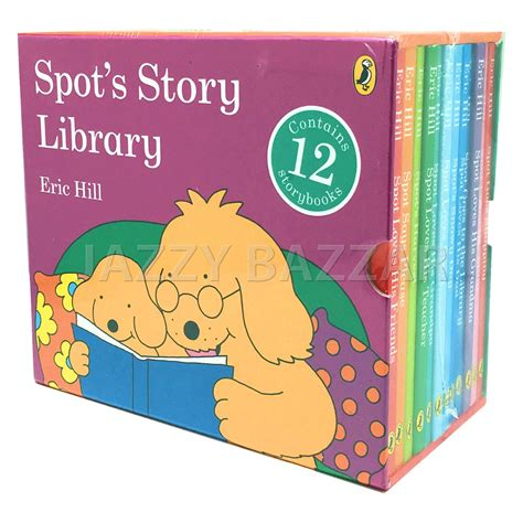 Warne Import Spot Goes Shopping By Eric Hill Buku Anak spot s story library 12 story books set collection boxset