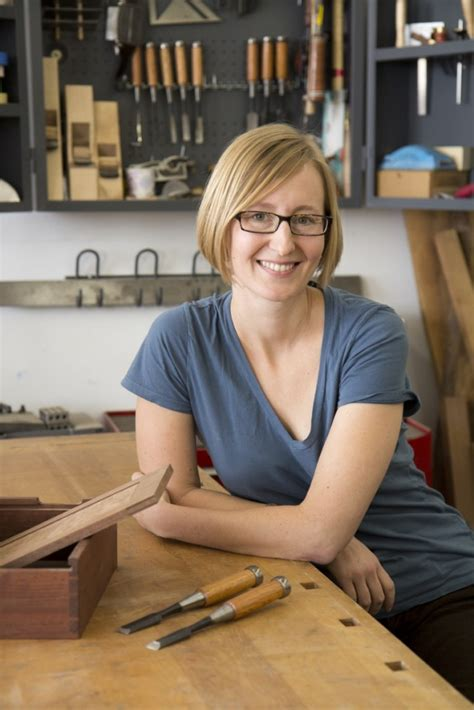laura zahn   experiences  woodworking ladyclever