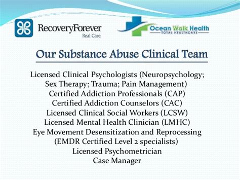 Cap Recovery Detox by Recovery Forever Brochure