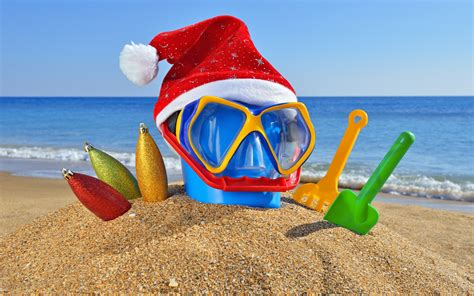 images of christmas on the beach beach christmas pictures wallpapers9