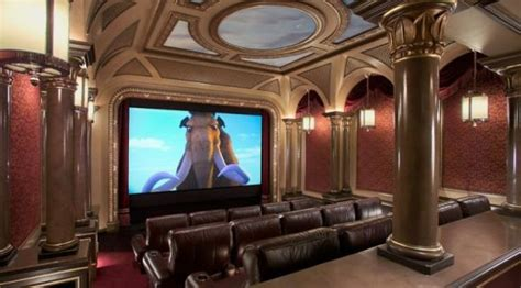 most high tech house the 15 most high tech home theaters neatorama