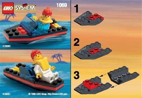 speedboat lego lego speedboat instructions 1069 city