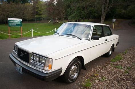find   volvo  dl  perfect condition white manual transmission bf  portland