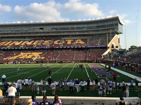 bank sections tcf bank stadium section 107 minnesota football
