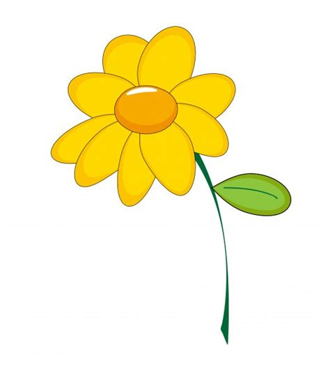 flower clipart yellow flower clipart free stock photo domain