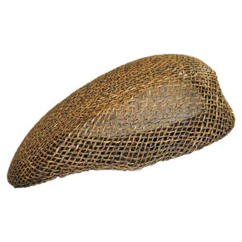 Straw Cap capas headwear seagrass straw ascot cap ascot caps