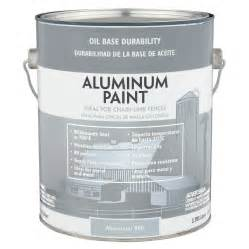 shop valspar heavy duty aluminum satin oil based exterior