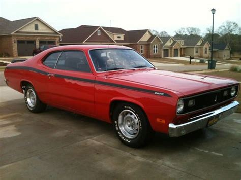cherry buys plymouth sell used 1972 plymouth duster w 318 v 8 engine w only