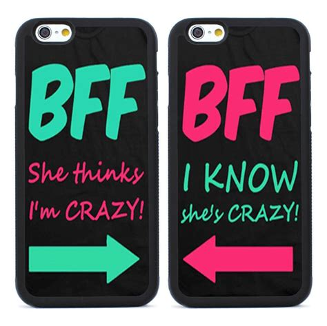 Friends Cases Transforms Your Ipod In To A Stuffed Animal by 2pcs Bff Best Friends For Iphone 4 4s 5 5s Se