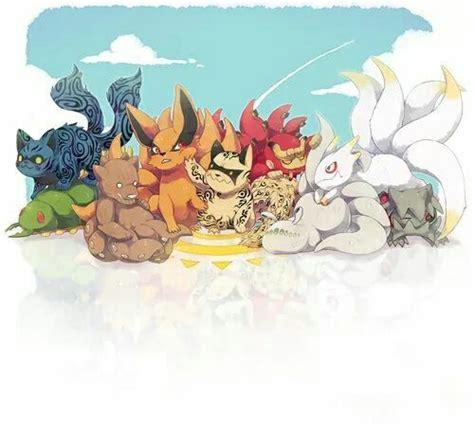 Kaos Anime Tailed Beast tailed beasts anime so and babies
