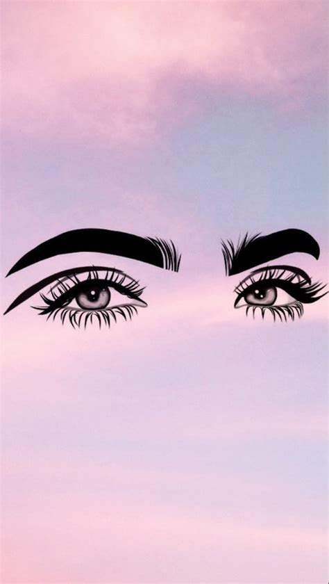 Tunedesign Sky Eye For Iphone 7 background wallpaper of eye makeup goals follow allikitty for more