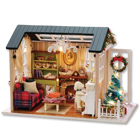 handmade furniture doll house diy miniature doll house 3d