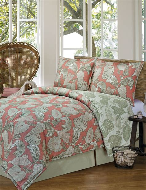 westgate 4 pc tropical print comforter set stage stores