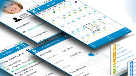 awesome work schedule apps   small business