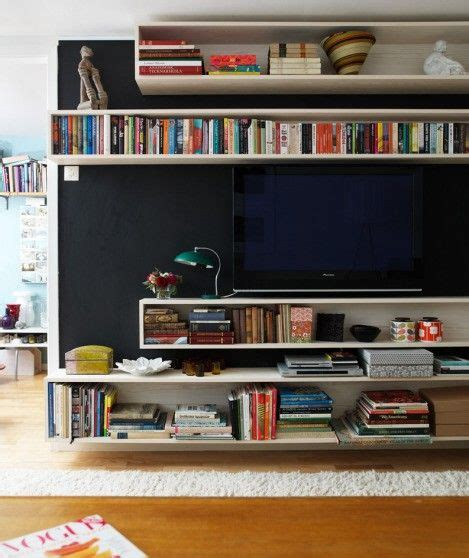 bookshelves around tv shelving around tv home