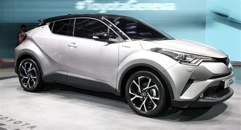 Toyota Suv Hybrid New Toyota C Hr Gets 1 2l Turbo 2 0l And 1 8l Hybrid