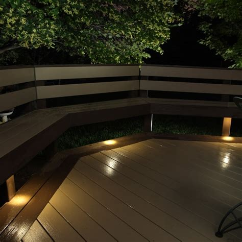 under bench led lighting led recessed down light 4 pack indoor outdoor dekor 174 lighting