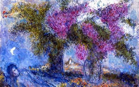 arte fiori chagall e i fiori arte in un giardino botanico in florida