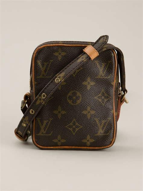 Lv Mini Bag S louis vuitton mini danube shoulder bag in brown lyst