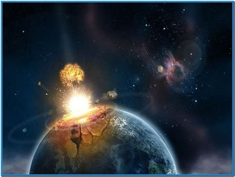 Flying Toasters Windows 7 Planet Explosion Screensaver Download Free