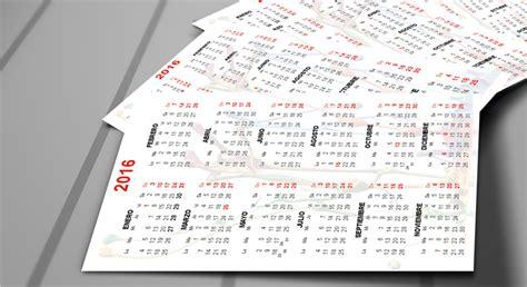Calendario Bolsillo 6 Plantillas Editables Calendarios Y Agenda 2016 Descargar