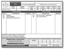 issste talones de pago jubilados 191 c 243 mo imprimir o descargar el comprobante de pago issste