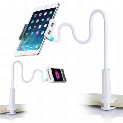 cell phone holder for bed cell phone holder universal flexible long arms mobile