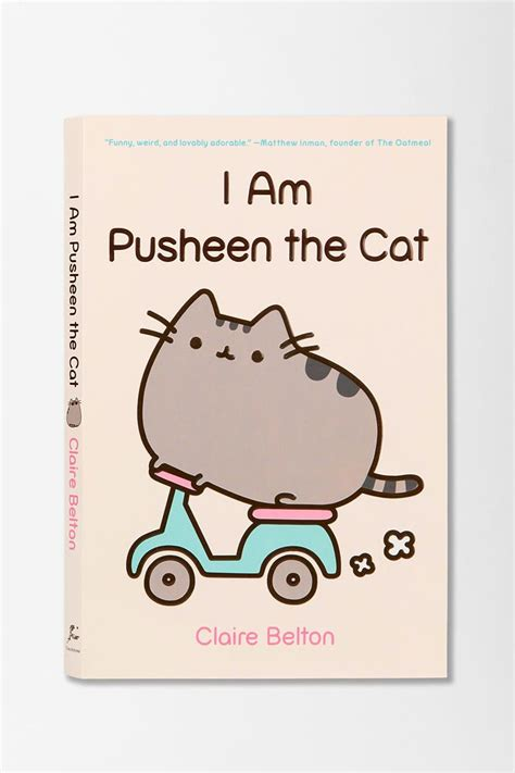 i am a cat books i am pusheen the cat by belton outfitters
