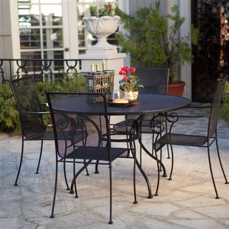 cast iron patio dining set inspiring cast iron patio