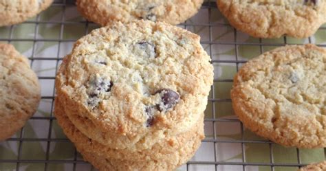Almond Chocochip Cookies 1 food pusher almond flour chocolate chip cookies